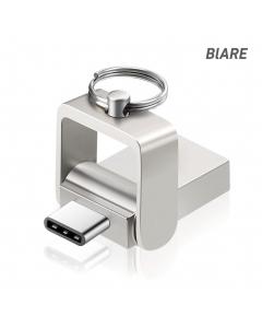 Blare NODE Dual Pen Drive Type C OTG USB 3.1 Flash Drive-32G
